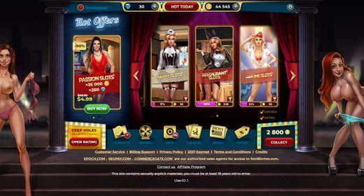 Porn Casino Games