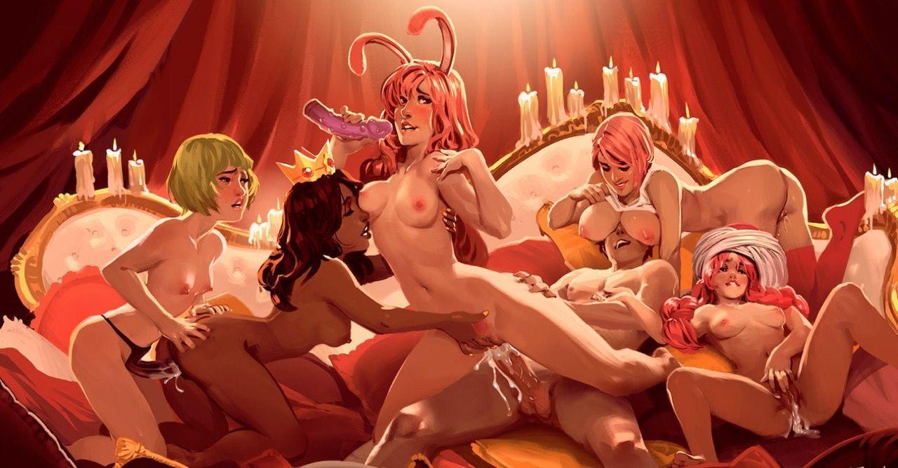 Hentai Heroes - sex game