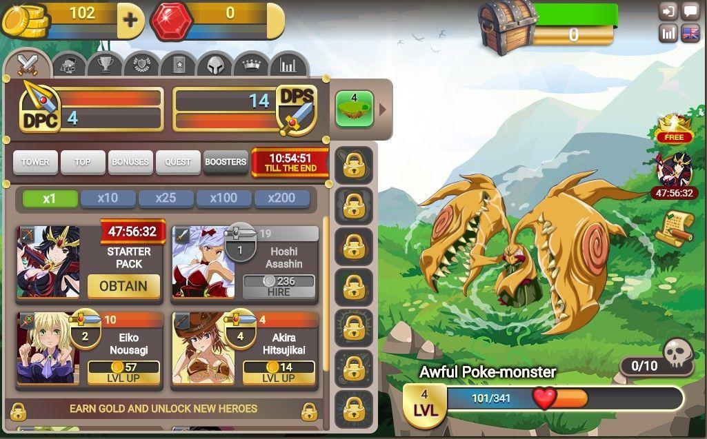 Fap Titans - Game play 2