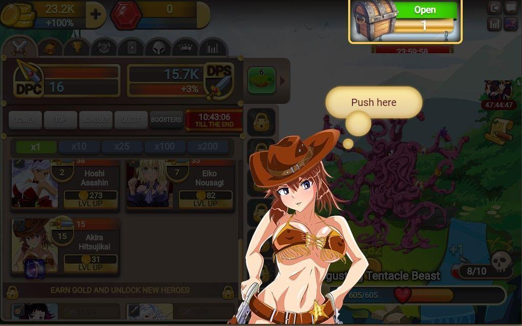Fap Titans - Game play 4