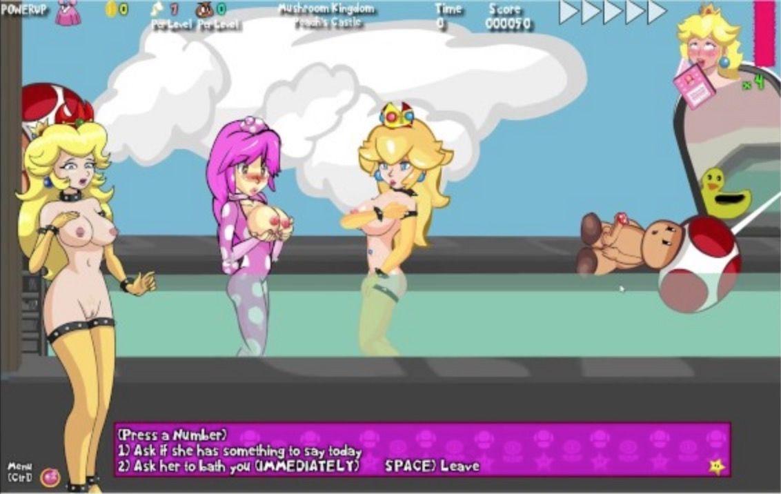 Peach's Untold Tale - flash game